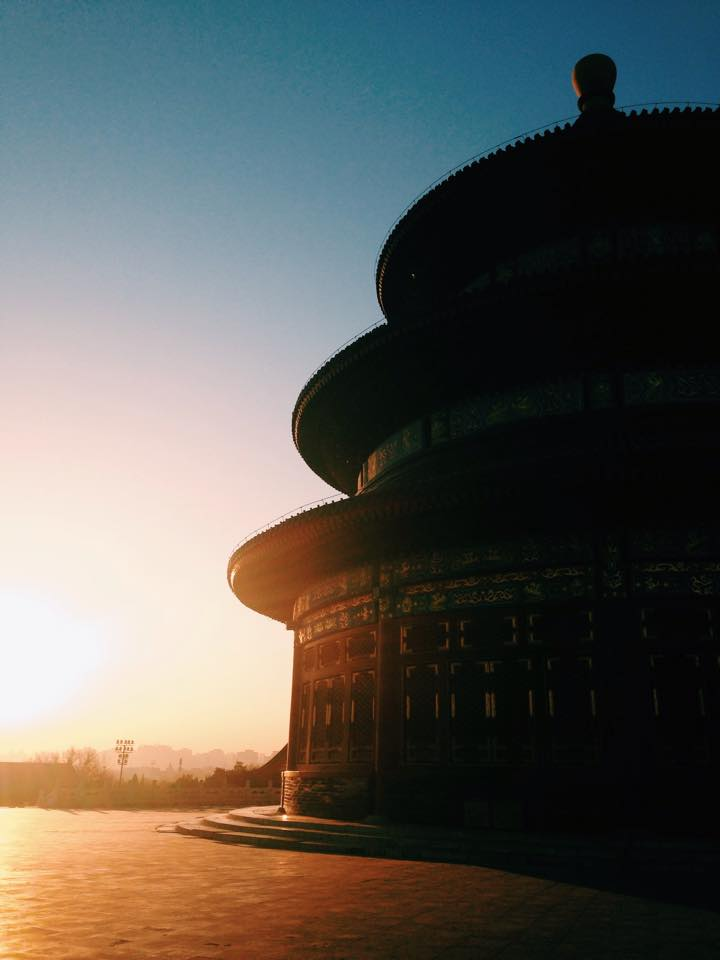 Beijing travel itinerary at sunrise