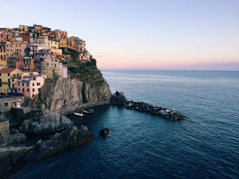 One Day Cinque Terre Itinerary: Sunset