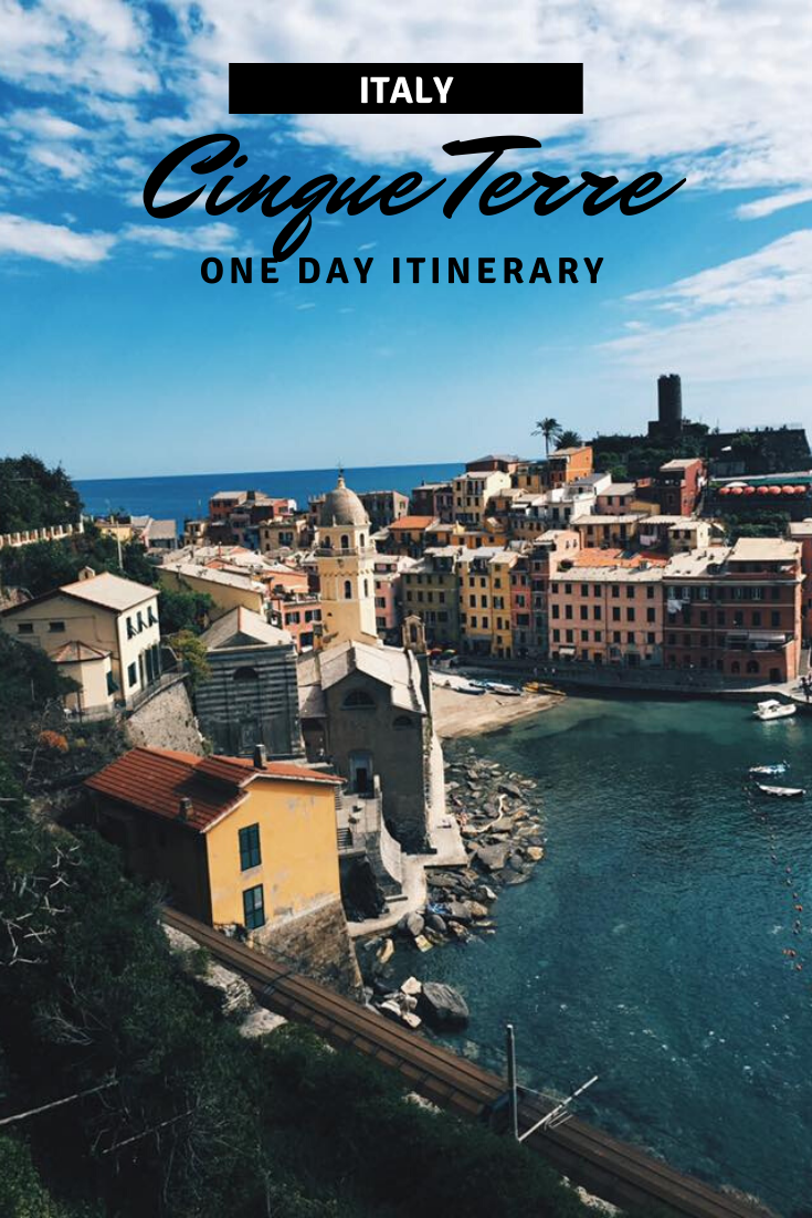 One Day Cinque Terre Itinerary View Pin