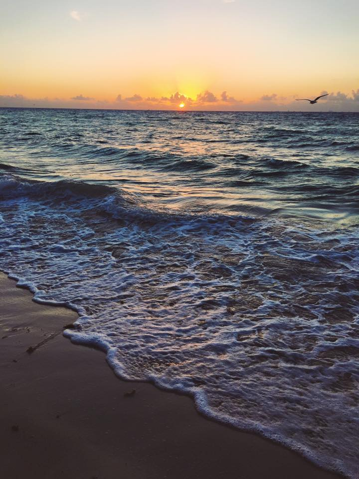 Winter Getaway: Sunrise in Playa del Carmen