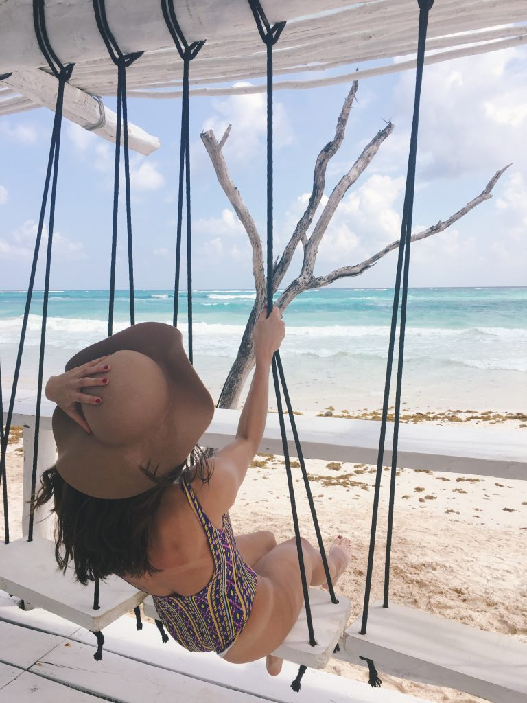 Coco Tulum Swing - playa del carmen to tulum day trip