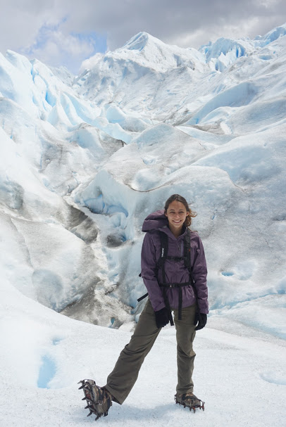 Hiking in Patagonia - El Morado Glacier - Ice Hike