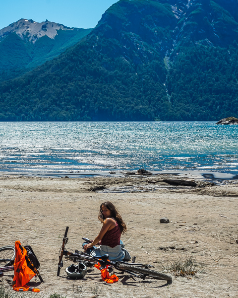 bariloche argentina on a bike trip