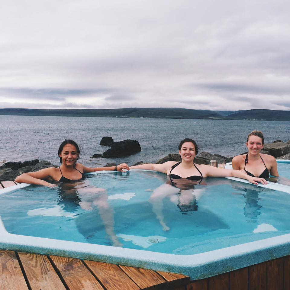 Iceland Road Trip - Dragneses Hot Tub