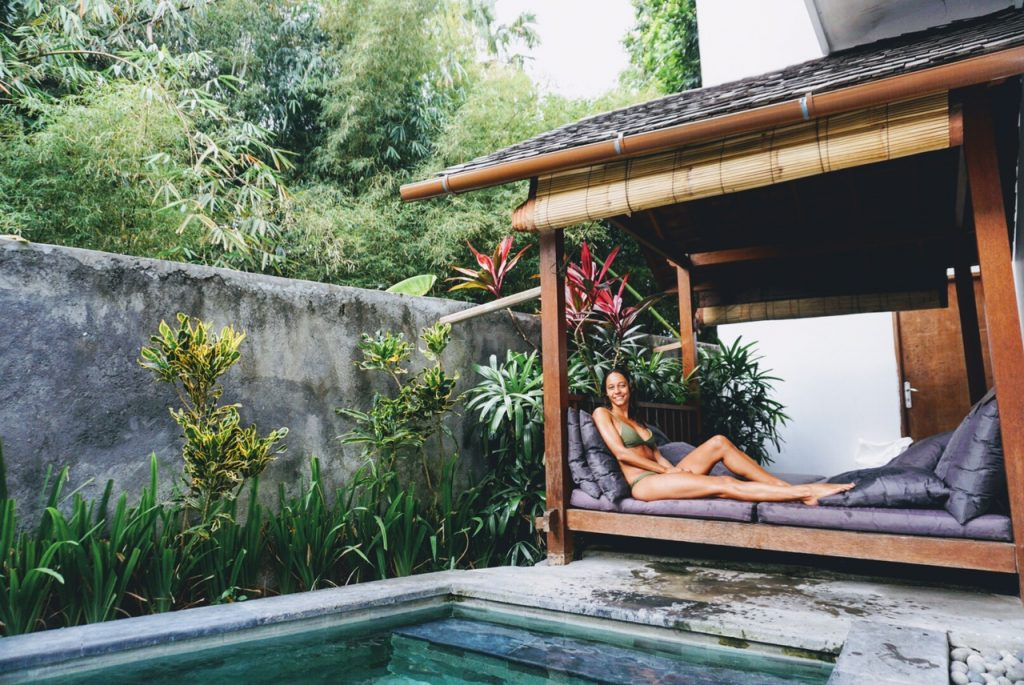 The Farm - Best Hostel in Bali - Swimming Pool