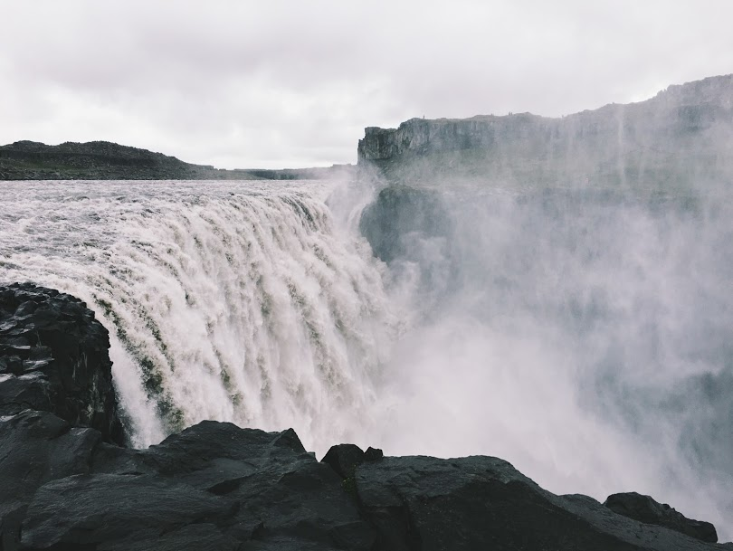 Iceland Road Trip - Detifoss Waterfalls