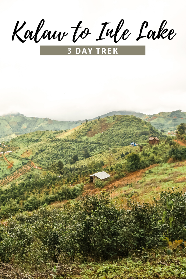 Kalaw to Inle Lake Trek pin