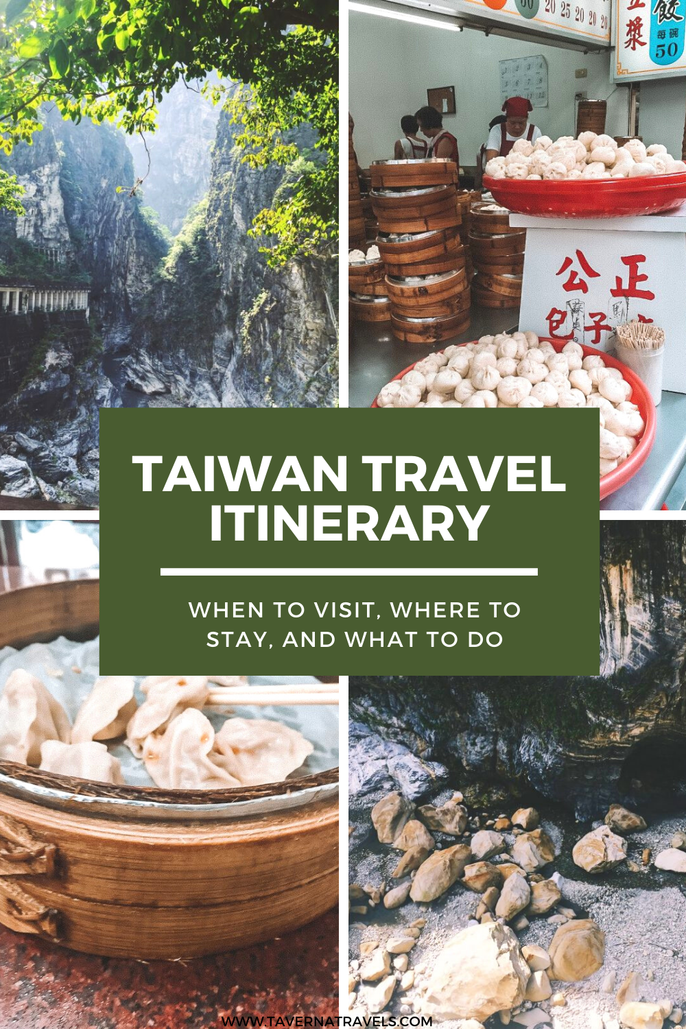 Taiwan Travel Itinerary pin