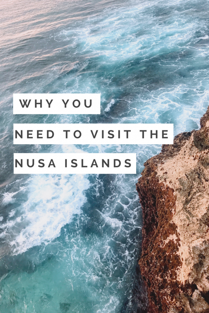 Why you NEED to visit the Nusa Islands in Indonesia!