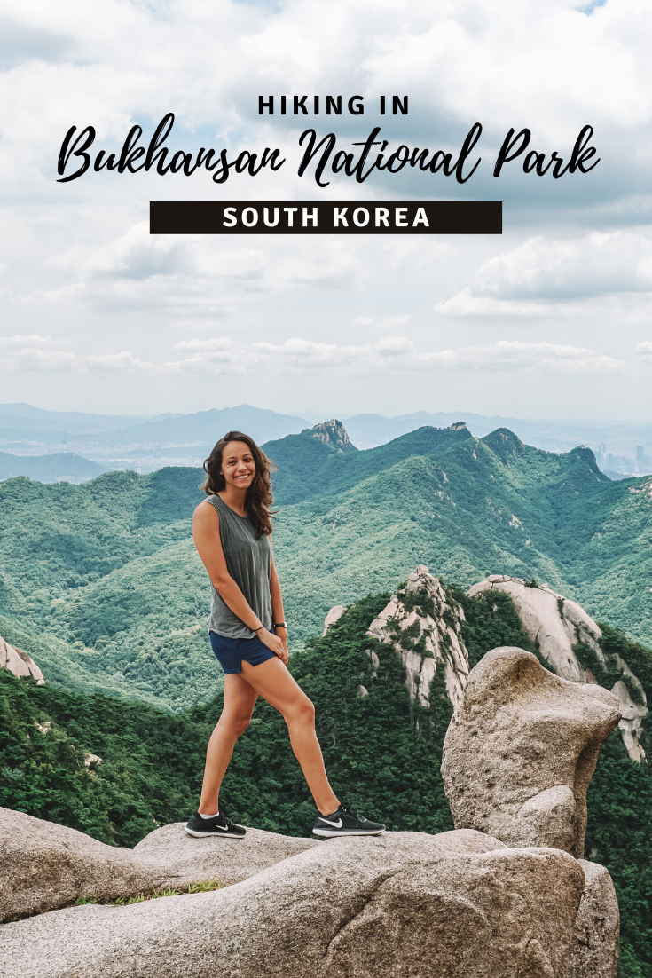 Seoul's Popular Bukhansan Hike pin