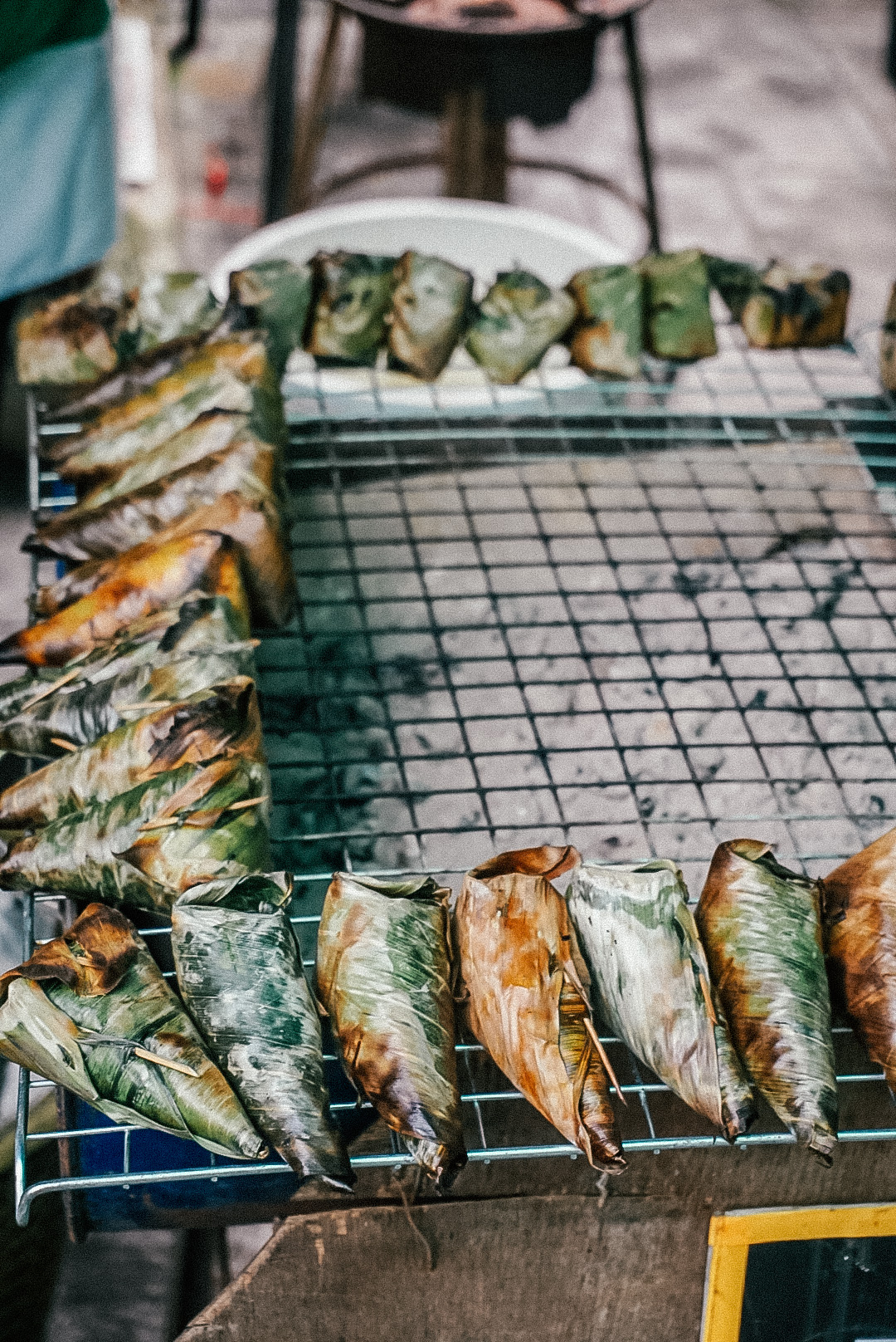 Trying new foods at Taling Chan Market, 48 hours in Bangkok