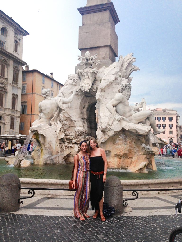Sightseeing in Piazza Navona, Rome, Italy, 24 hours in Rome
