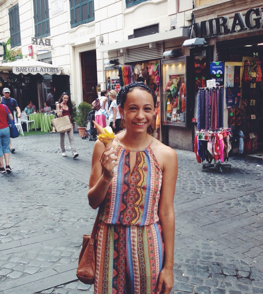 Don't forget to eat as much gelato as possible when spending 24 hours in Rome