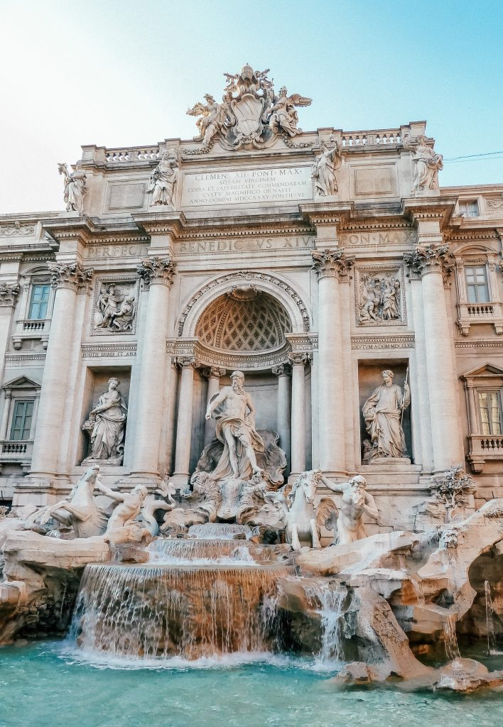 Trevi Fountain - 24 hours in Rome, Italy