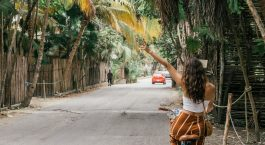 Explore Tulum Beach by bike, getting around on a budget