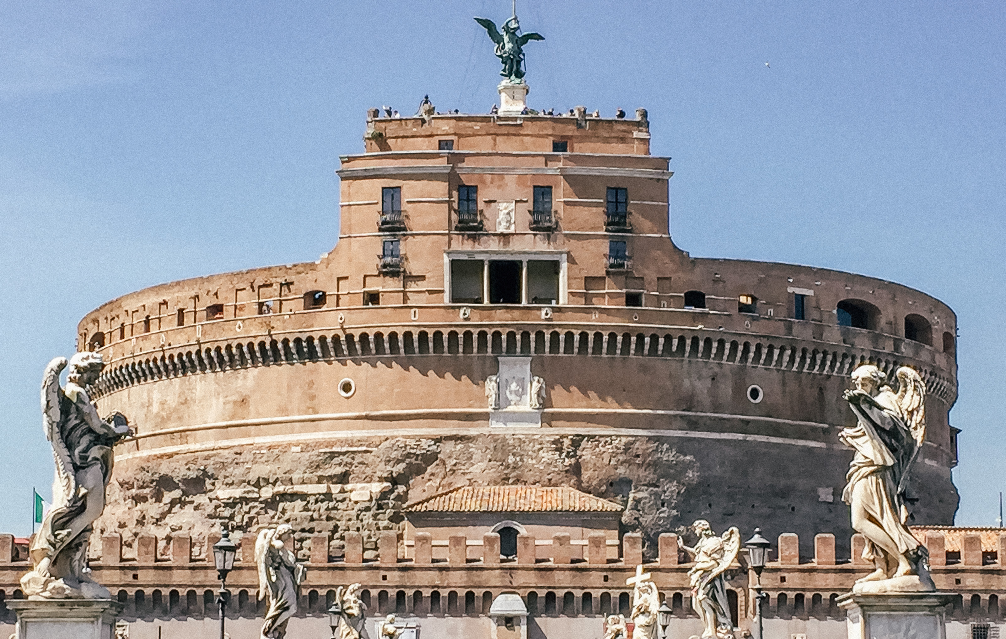 Exploring rome in 24 hours; visiting Castle St Angelo