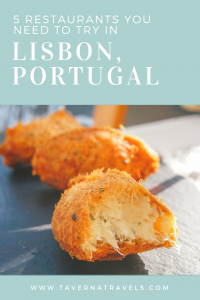 5 Amazing Restaurants you NEED to eat at in Lisbon, Portugal