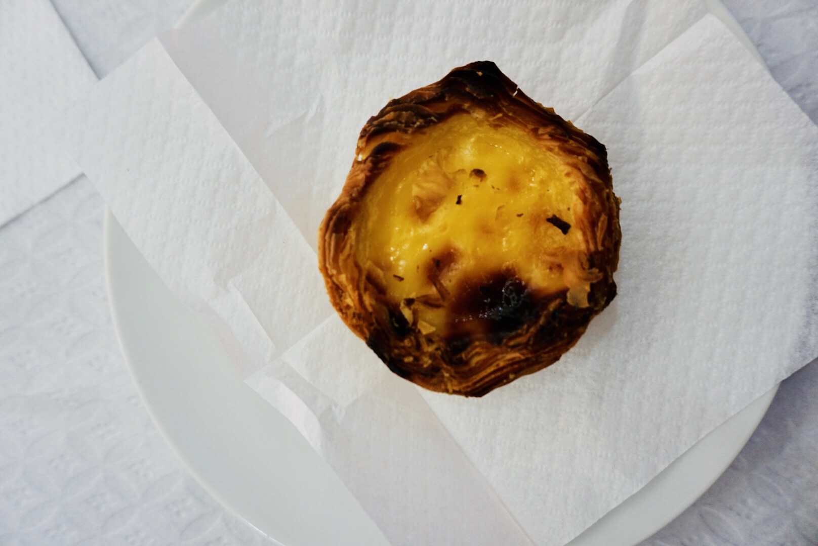 The best Portuguese Desert - Pastel de Nata in Lisbon, Portugal