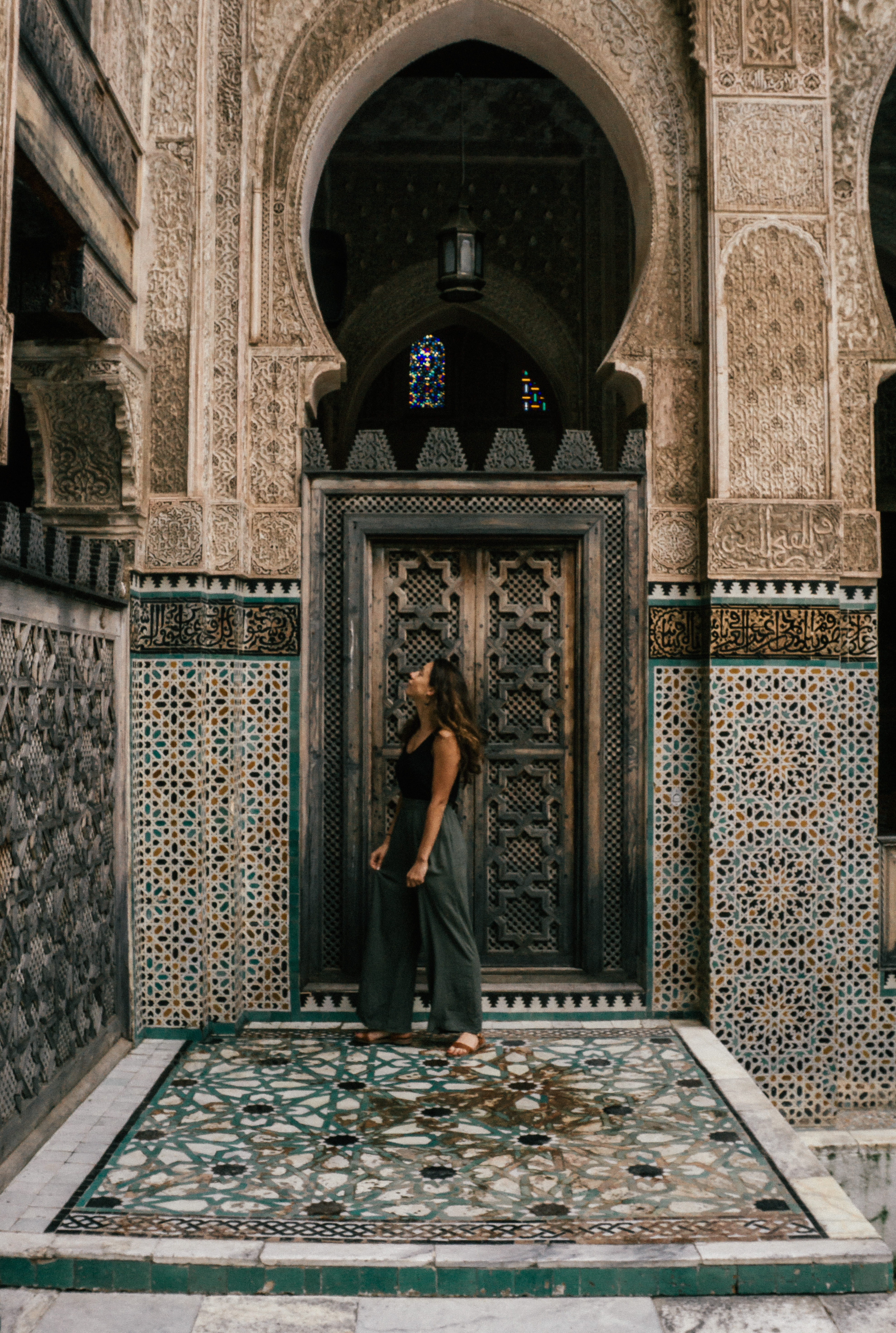 Things to do in Fes - beautiful Madrasa Bou Inania