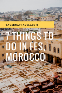 What Not to Miss! 7 of the Absolute Best Things to do in Fes, Morocco!