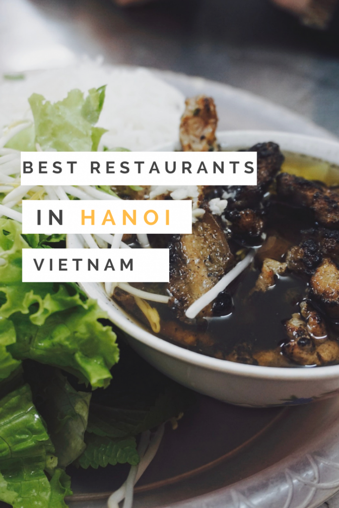 5 Spots That You Absolutely Need to Eat at in Hanoi, Vietnam