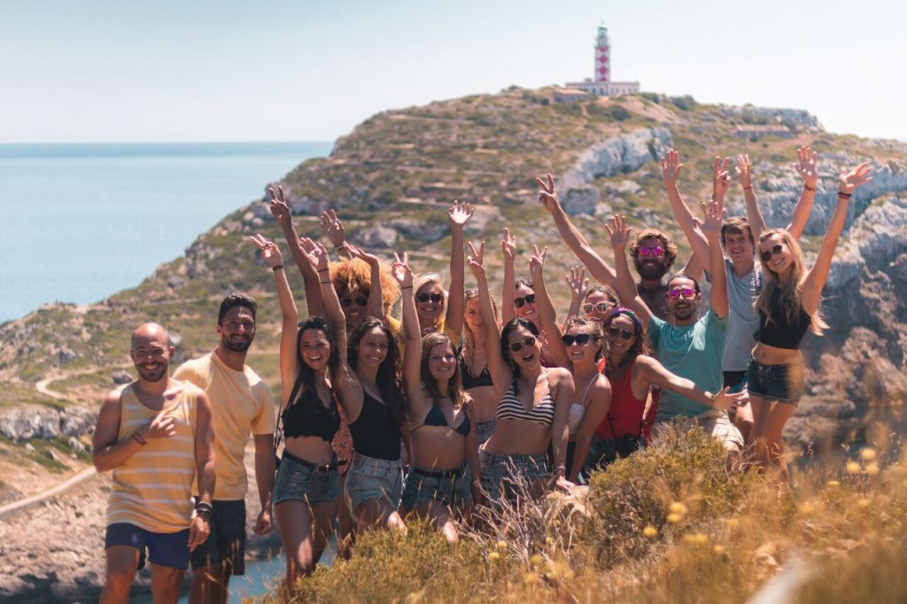 Group travel trip in Mallorca, Spain with IN Adventures