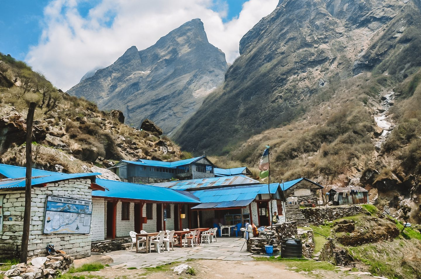 tea house on the annapurna base camp trek