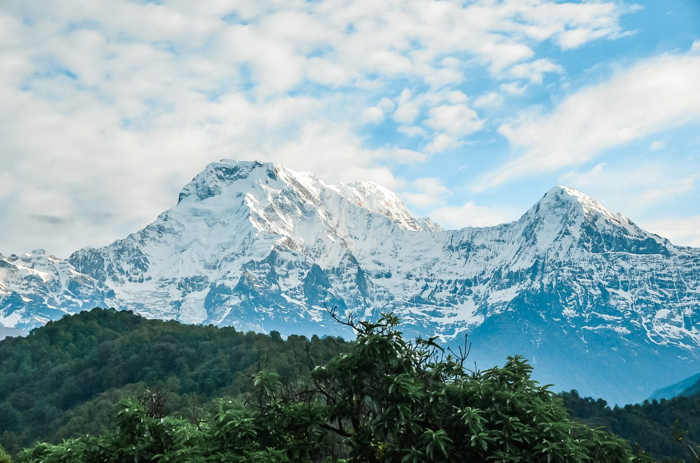 annapurna base camp mountains