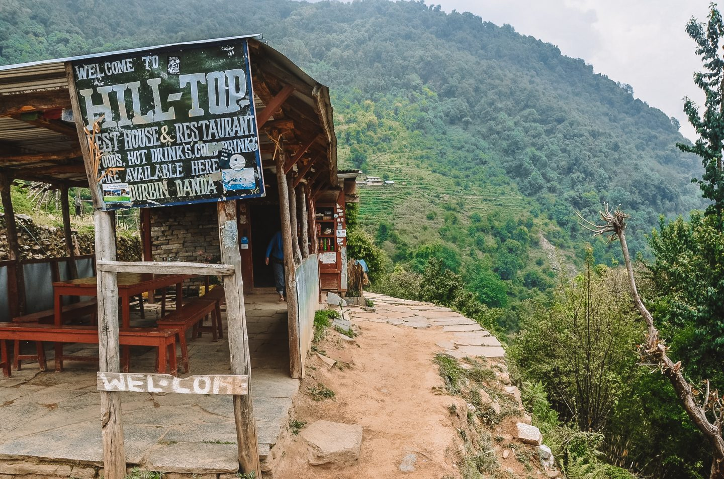 restaurants on the way to annapurna