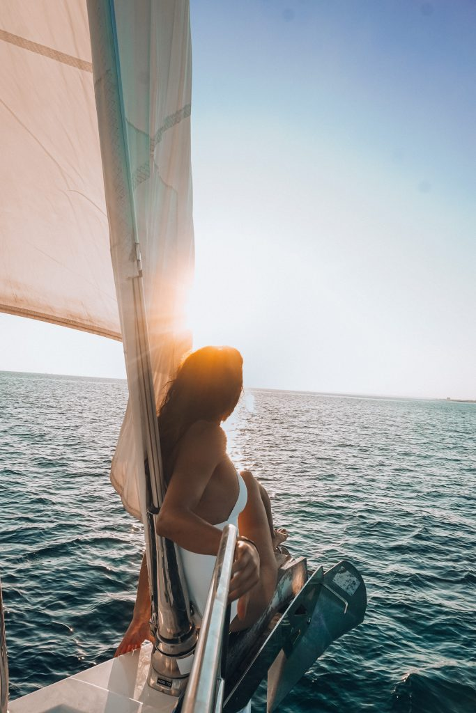 Sailing in Mallorca - best sunset in Spain