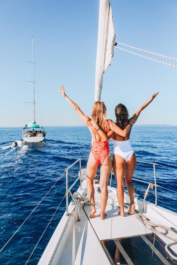 Adventures sailing in Mallorca, Spain