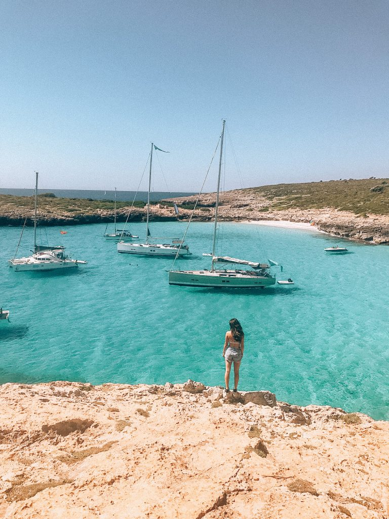 The most incredible blue waters in Mallorca, Spain