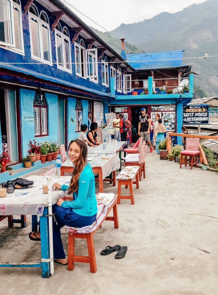 Hiking to Annapurna Base Camp Trek - Nepal - Tea House Accommodation