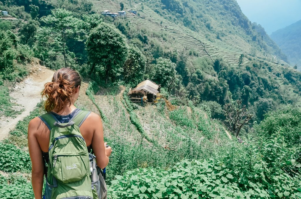 Hiking to Annapurna Base Camp Trek - Nepal
