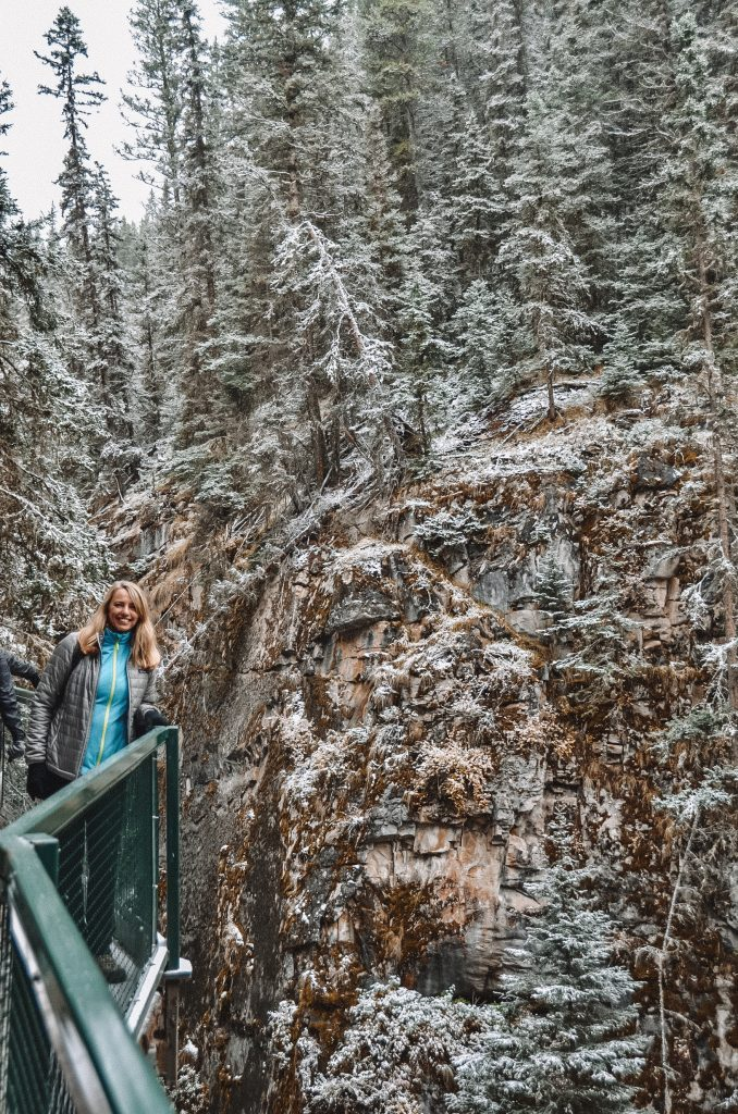Johnston Canyon - Three Days in Banff Itinerary