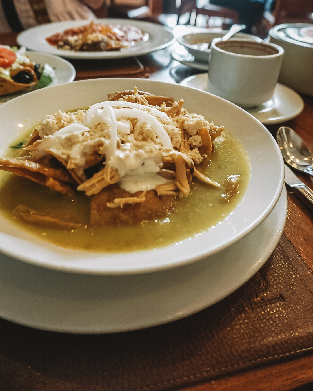 brunch at el cathedral in mexico city