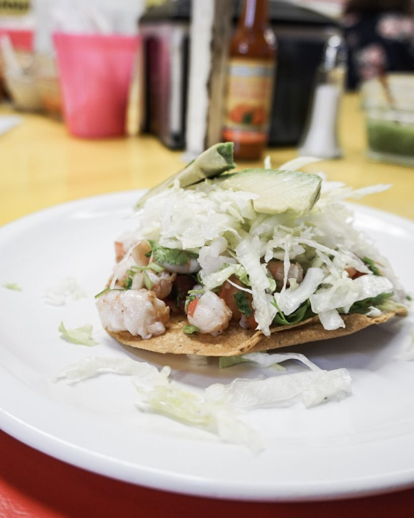 tostadas in mexico city