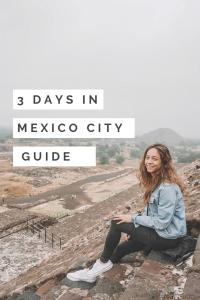 Three Days in Mexico City Guide