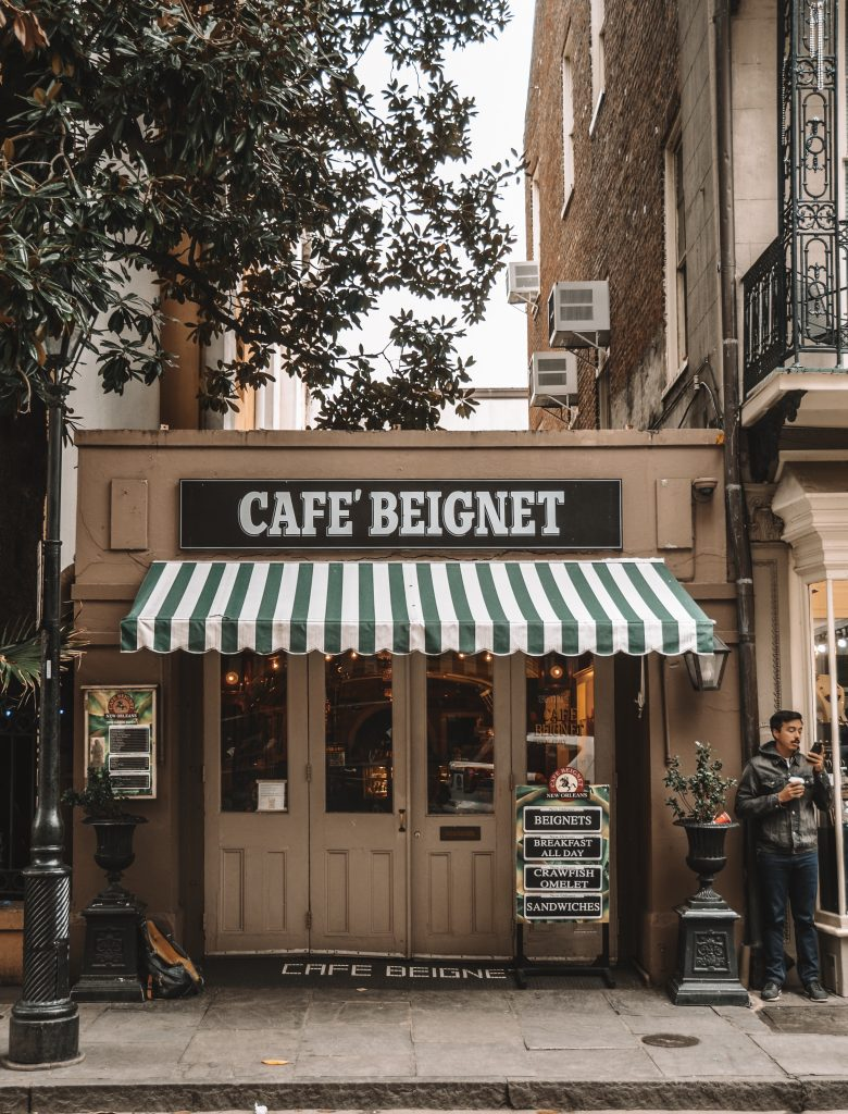 Two Days in New Orleans: Cafe Beignet