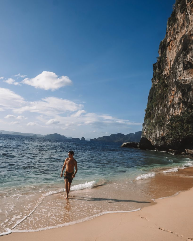 Island Hopping in El Nido: Helicopter Beach