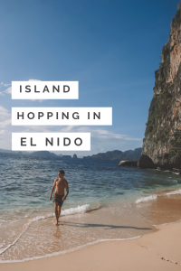 Island Hopping in El Nido, Palawan! Everything you need to know about booking a private boat tour in the Philippines!