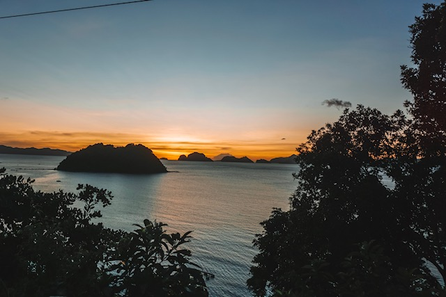 Things to do in El Nido: Sunset Views