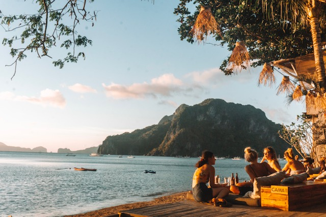 Things to do in El Nido: Best Sunset Bar in El Nido