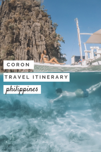 Coron Travel Itinerary: Things to do in Coron