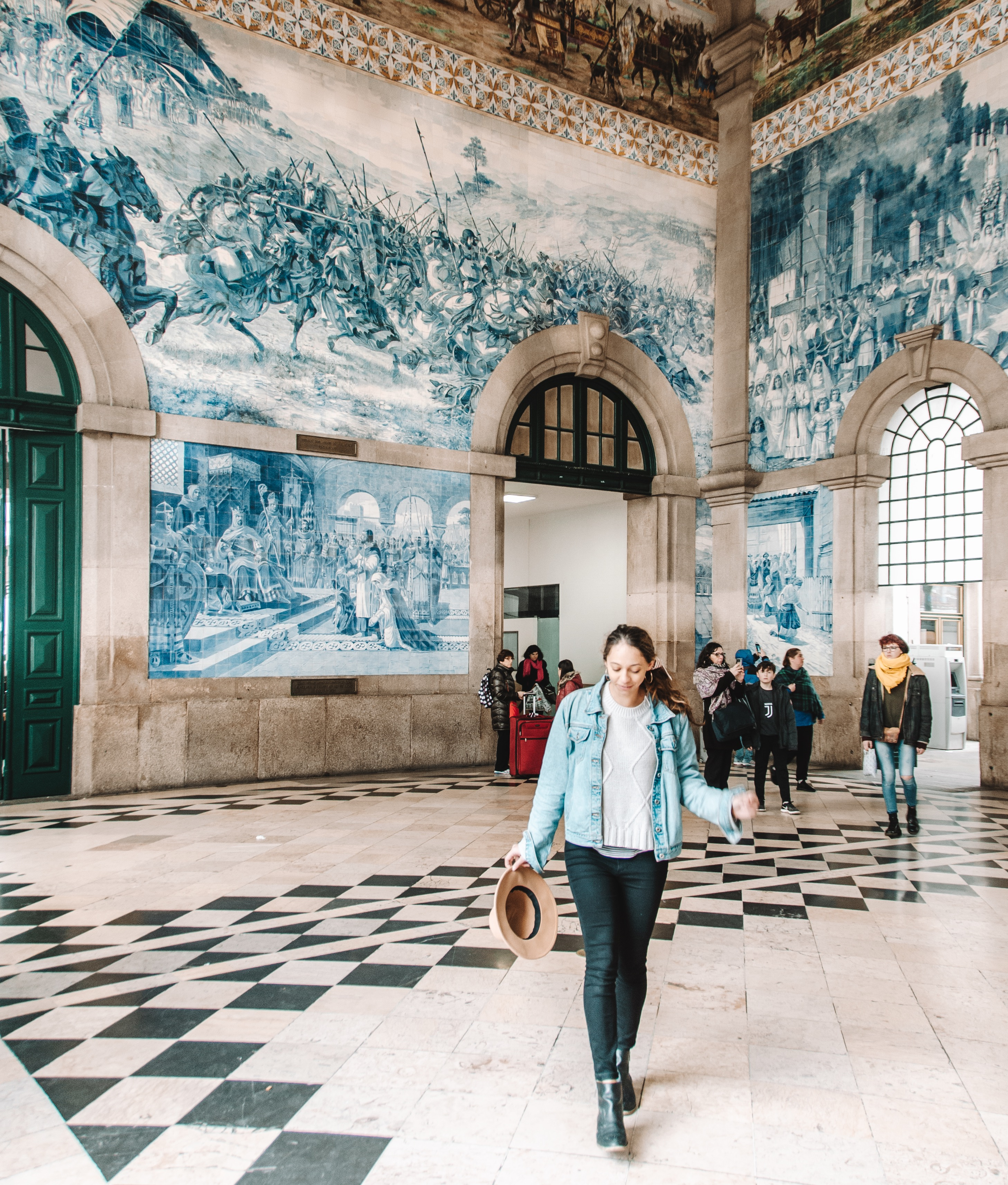 Best Things to do in Porto, Portugal - Visit Sao Bento Station