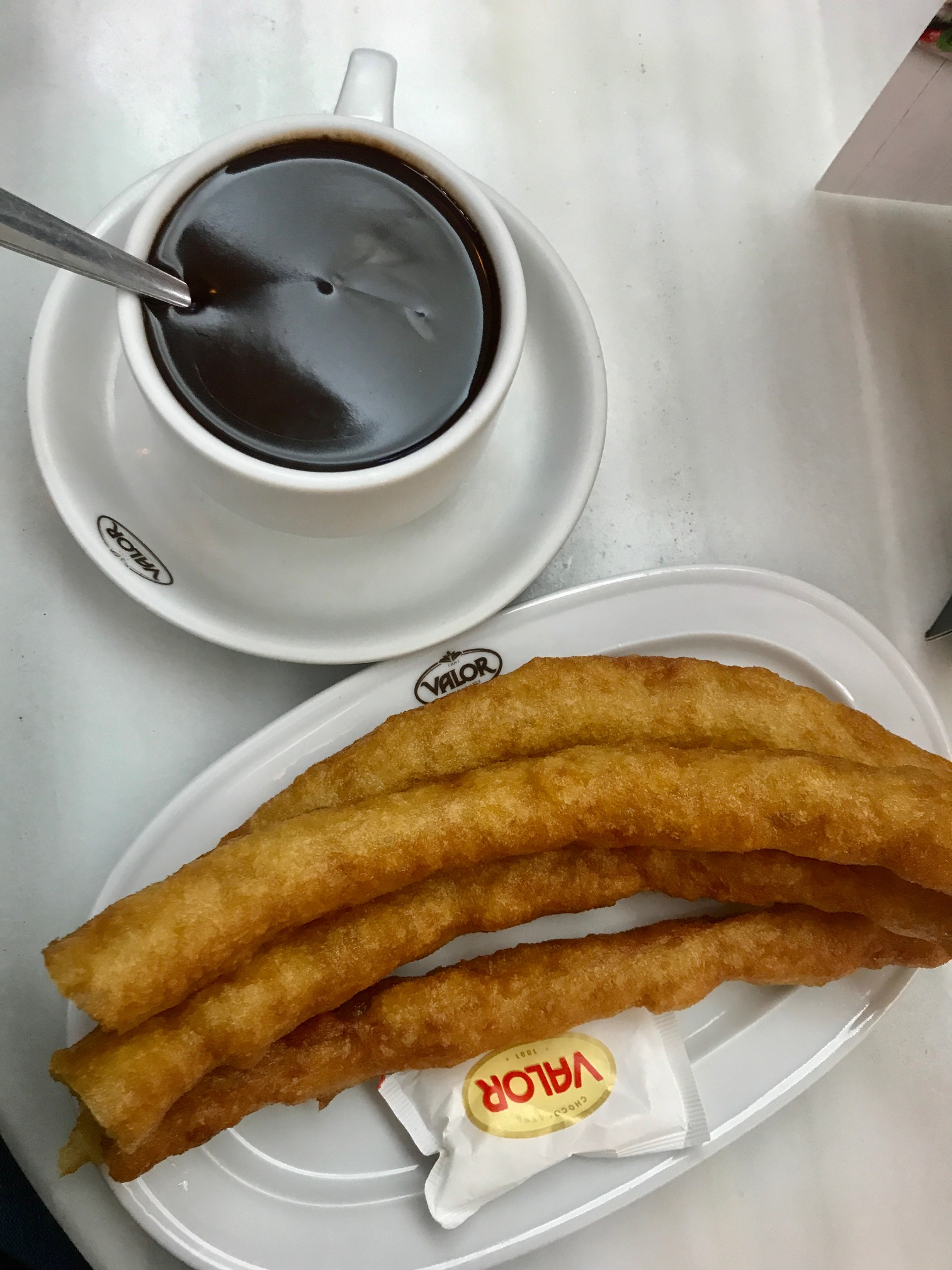 Best Restaurants in Barcelona: Churros at Valor