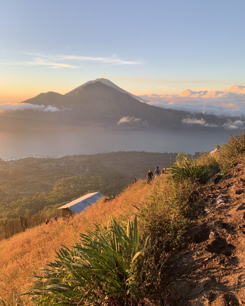 a must do activity in ubud - hiking to mt batur at sunrise