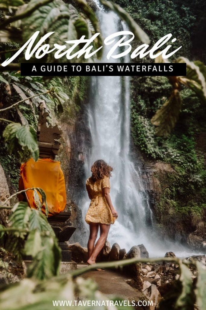 North Bali Waterfalls: A Guide to the Best Waterfalls in North Bali #Bali #Waterfalls