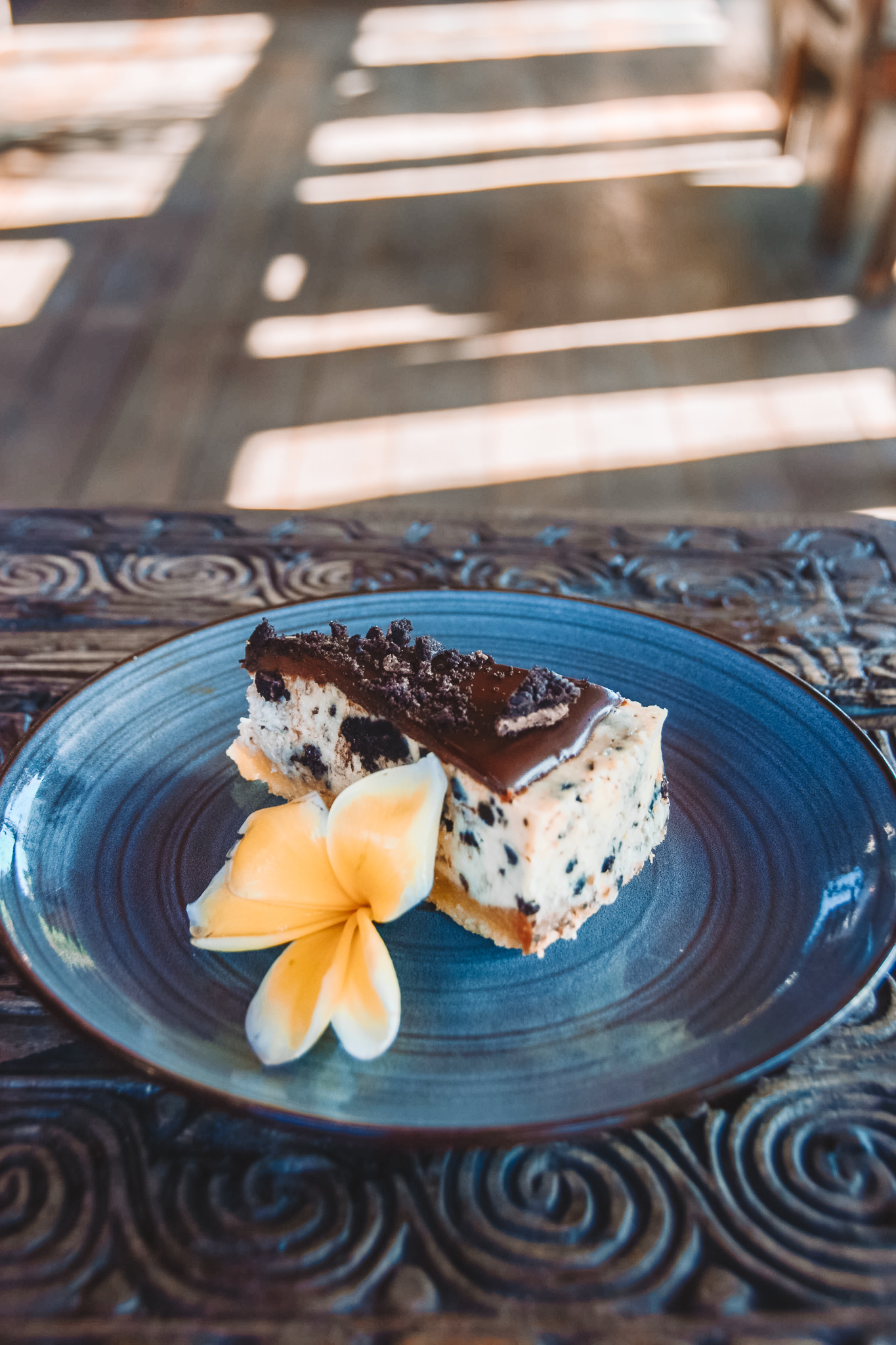 Oreo cheesecake at Betelnut in Canggu, Bali