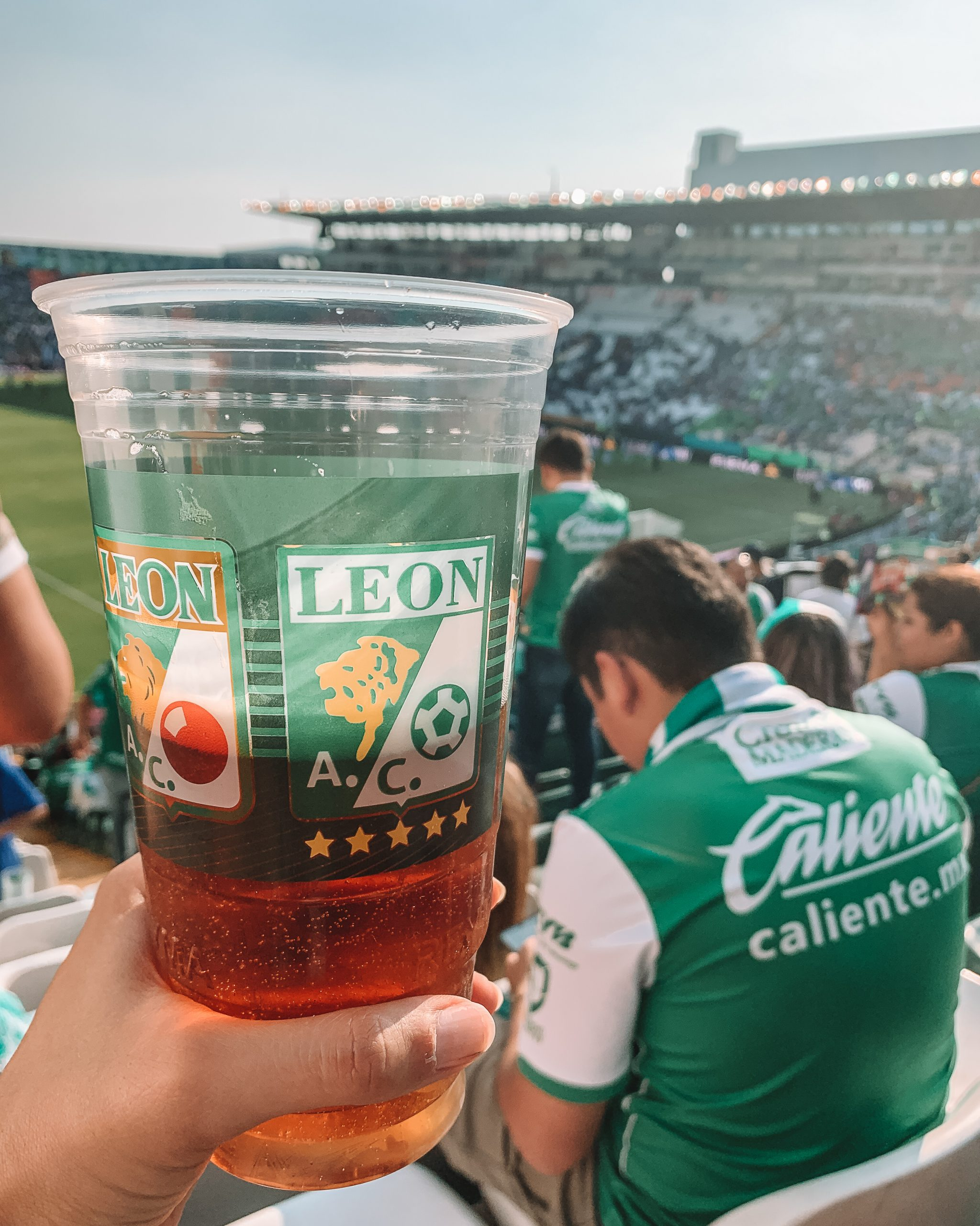 Soccer game in Leon, Mexico